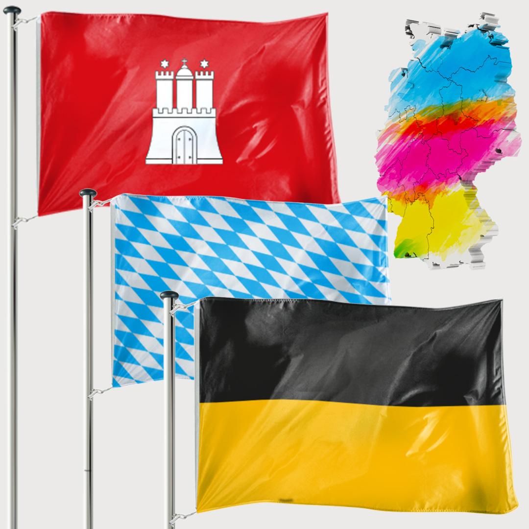Bundeslandfahne - Hissfahne