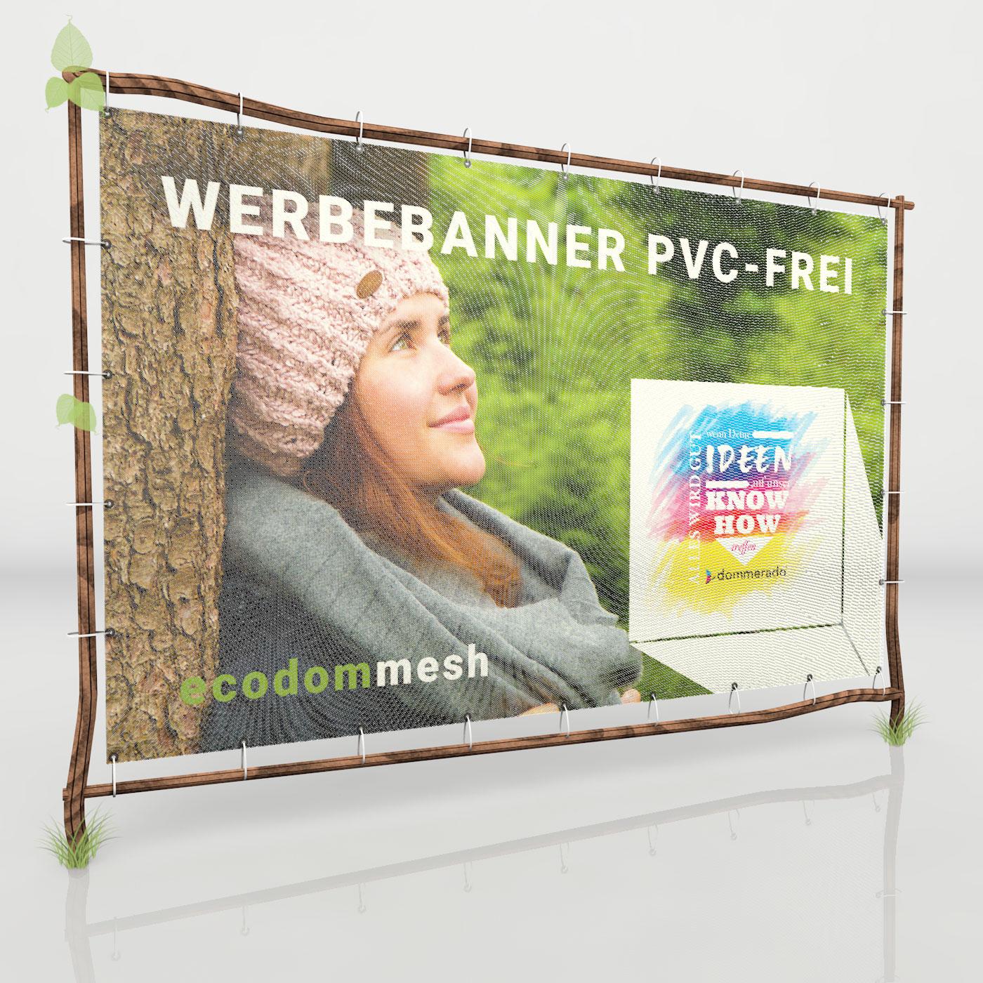 PVC-freie Mesh Banner