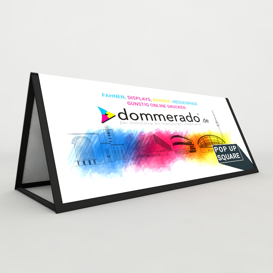 Popup Banner Square
