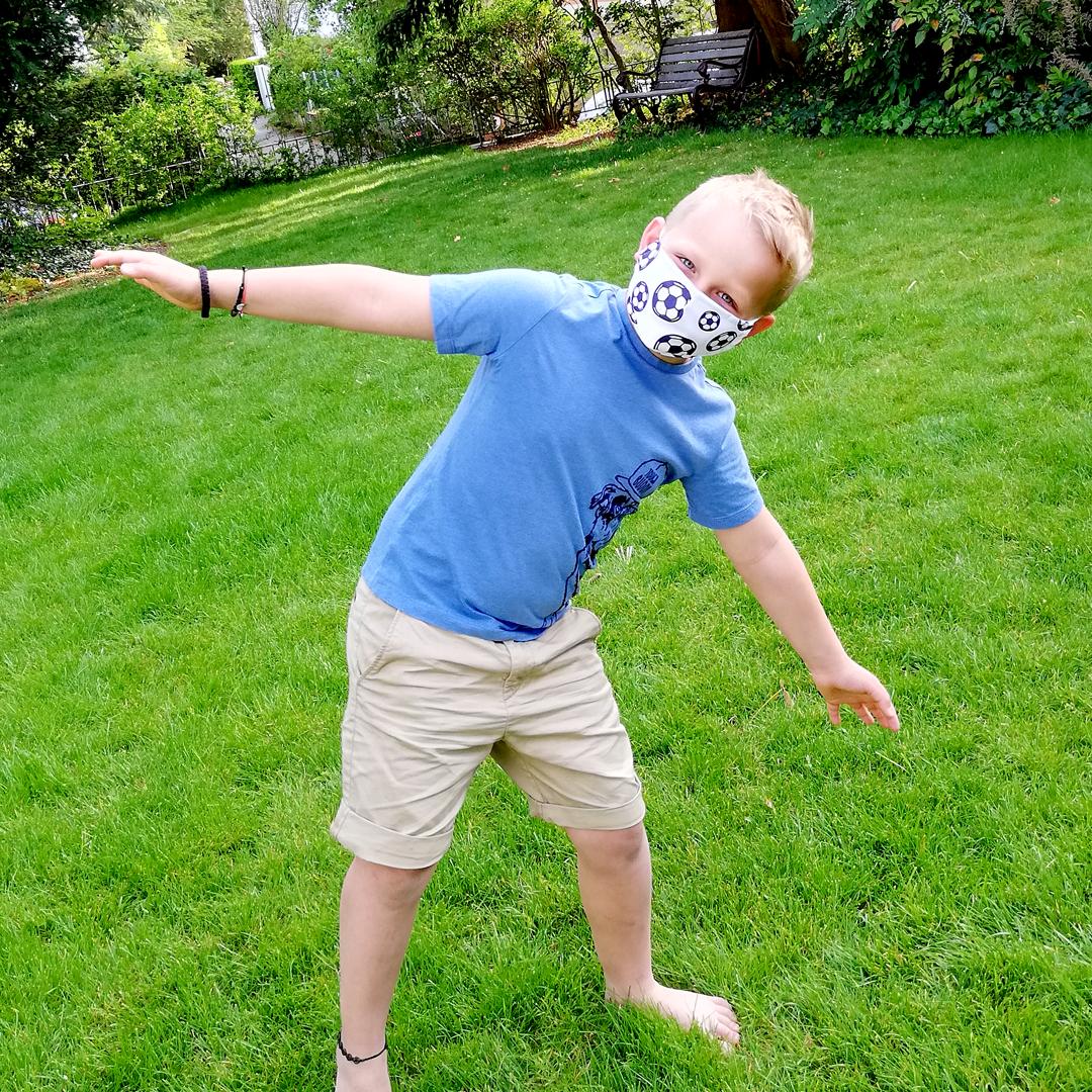 Kindermaske selbst gestalten