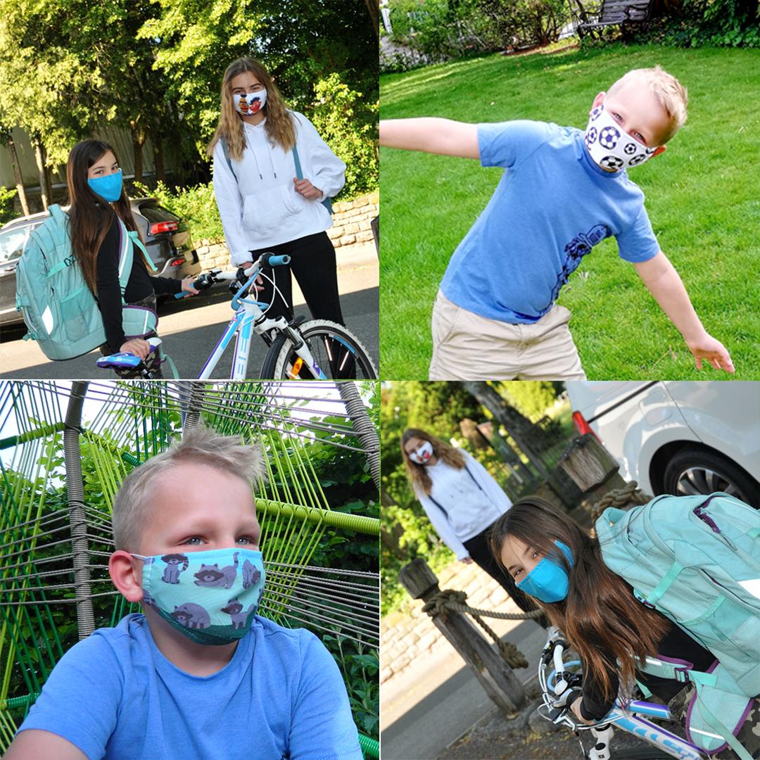 Kindermasken - mit Motiv