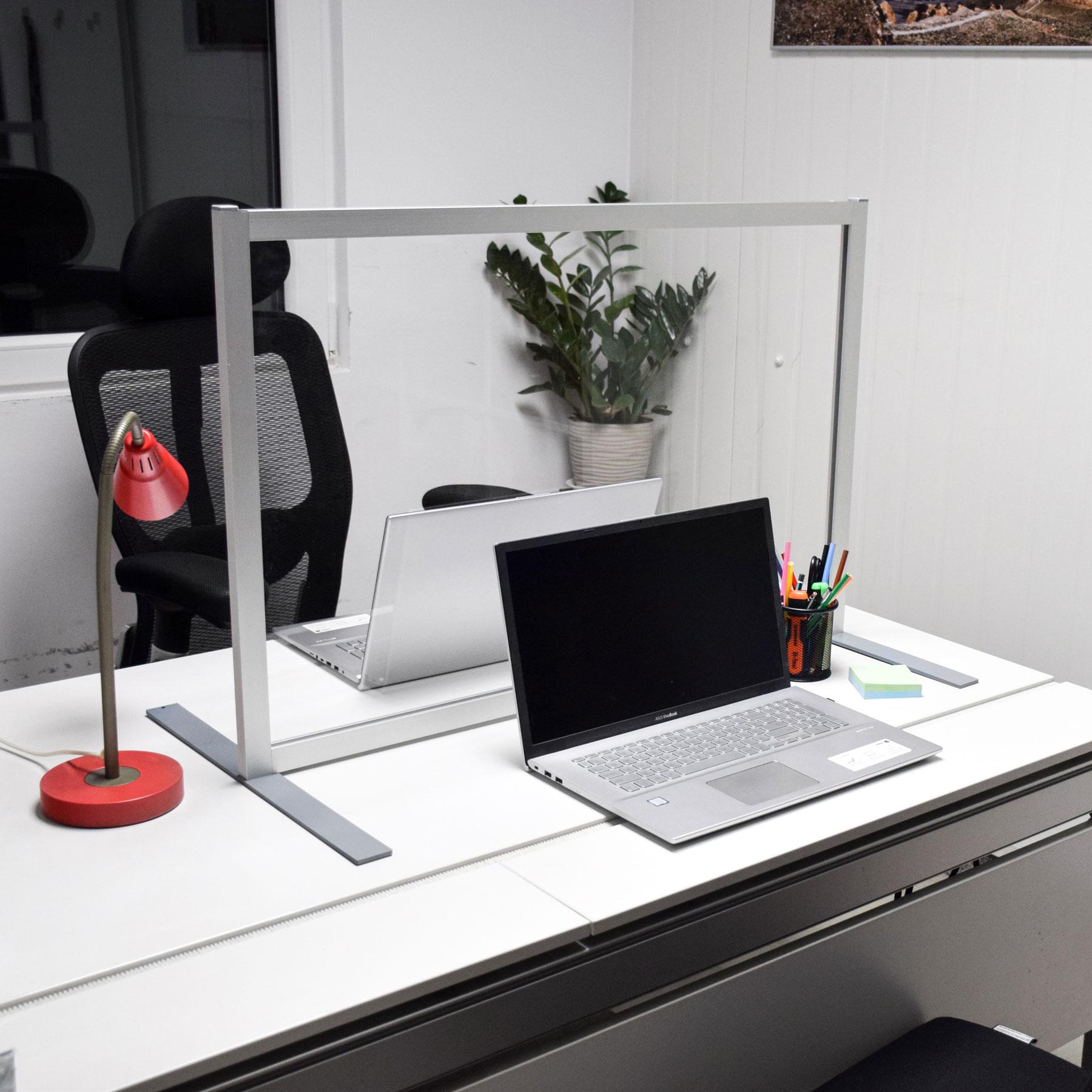 Spuck- und Hygieneschutz Schreibtisch